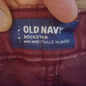 Old Navy Pants - OLD NAVY ROCKSTAR MID-RISE WOMEN'S 12 REGULAR